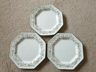 "Johnson Brothers Eternal Beau 7.5"" Side Plates x 3"