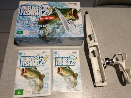 Big Catch Bass Fishing 2 - $20   Used only once