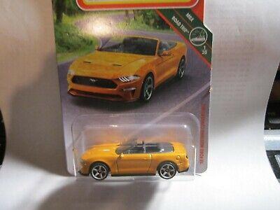 '18 Ford Mustang * Orange * #4  2019 Matchbox Case M