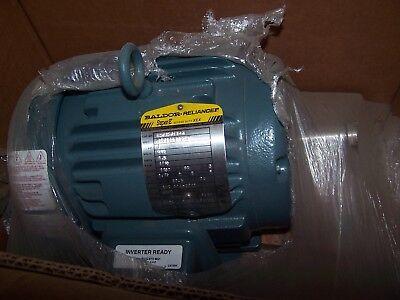 New Baldor Sever Duty 1 Hp Ac Electric Motor Ecp3581t-4 Frame 143t 460 Vac