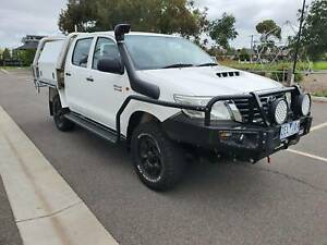 2012 Toyota Hilux SR Duel Cab Tray Ute 4X4 TURBO DIESEL LOTS OF EXTRAS Hoppers Crossing Wyndham Area Preview