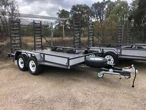 4.5 Tonne Heavy Duty Bobcat / Excavator Plant Trailer Yass Yass Valley Preview
