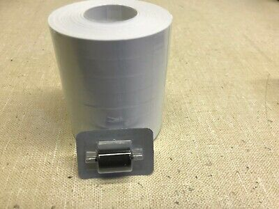 8 Rolls 1110 White Labels For Monarch 1110 And 1 Ink Roller 84000 Labels