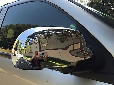 2002-2009 Chevrolet Trailblazer Chrome Mirror Cover