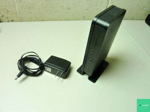 NETGEAR C3700 340 Mbps Cable Modem Wireless Router (C3700-100NAS) TESTED!