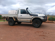 Chopped 80 series turbo diesel Ute Lissner Charters Towers Area Preview