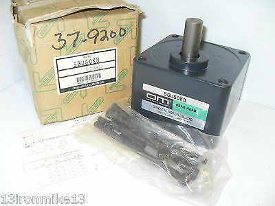 New In Box Oriental Electric Motor 5gu50kb Gear Head Gearhead Ship From Usa