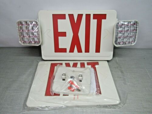 E-conolight E-XCL2RW Exit & Emergency Combo Lighting Unit