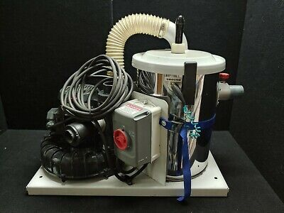 Goodway Dv-sv Industrial Vacuum Fixed 2 Discharge 2.3hp 460v 4a W Rf24 Motor