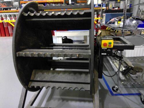 Mototrized Heated Sample Line Spool