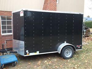 6x6x10 closed trailer 2015