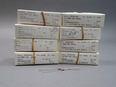 Mixed Lot Of 1000 Dale Resistors - New