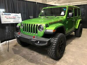 2019 Jeep Wrangler Unlimited Rubicon w/ sky power top roof