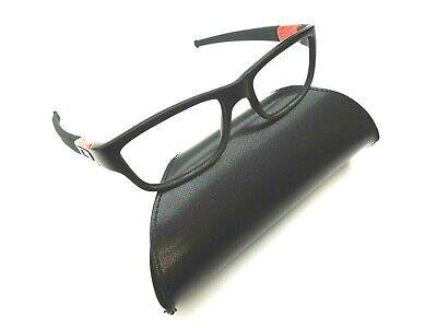 Oakley Marshal OX8034-0951 Black/ Ferrari Red Eyeglasses 51/17 143 /GED234