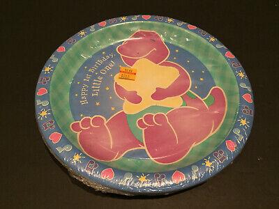 Barney Birthday Supplies (Barney 1st Birthday Party Supplies Paper Dinner)