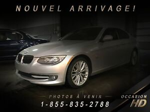 BMW 335 COUPE + XDRIVE + PREMIUM + SPORT PACK + TOIT + SUPERBE