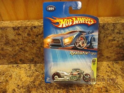 2005 HOT WHEELS FE REALISTIX AIRY 8 SILVER 4/20 #004 (V)