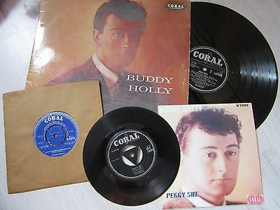 45rpm.   BUDDY HOLLY  LOVE'S MADE A FOOL UK DEMO 7""