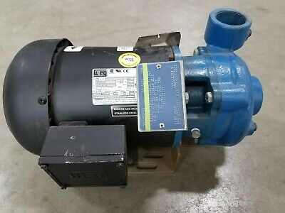 Scot Industrial Water Pump With Weg 1 Hp Motor 380v 50hz 3 Phase 4.13 Impeller