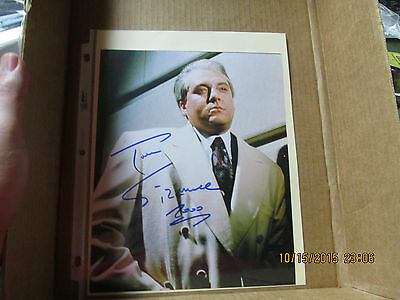 TOM SIZEMORE SIGNED / AUTOGRAPHED  8 X 10    GREAT PIECE   L@@K