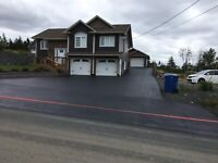Driveway/parking lot sealing & line painting