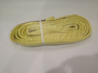 Web Sling Recovery Strap 17 Ft X 1 In - 3 Ply Stren-flex Made In Usa