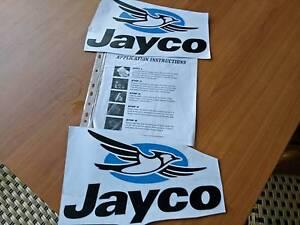 Jayco stickers x2 Trinity Beach Cairns City Preview