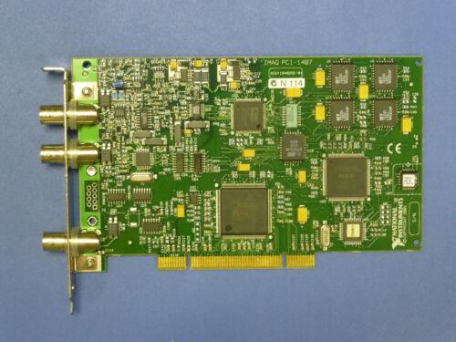 National Instruments PCI-1407 NI IMAQ Video Frame Grabber Card