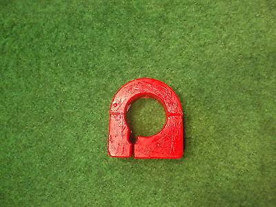 Lenkgetriebelager Servo Polyurethan PU-Lager Golf 3 rot