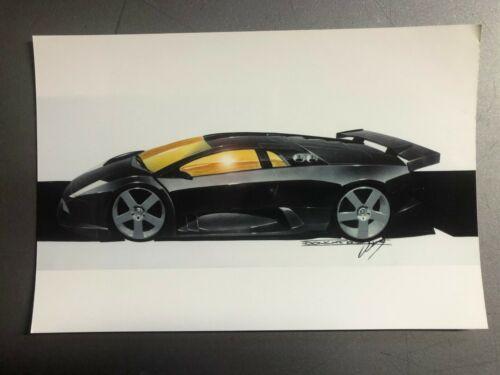 Lamborghini Mercielago Coupe Factory issued Press Photo RARE!! Awesome 7x5