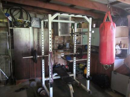 CyberFit power rack gym and lots of extras Ingleside Warringah Area Preview