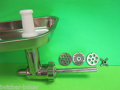 Kitchenaid Mixer Meat Grinder Food Chopper Attachment STAINL