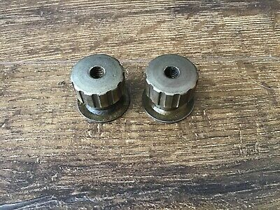 2 Albertson Sioux Tools 645 Valve Grinder Motor Cover Knobs Nut Free Ship