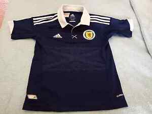 Adidas Boys Scotland Soccer Shirt Mindarie Wanneroo Area Preview