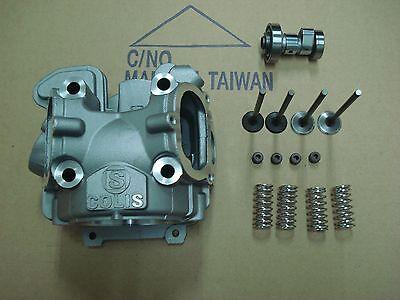 Yamaha Zuma 125 Cylinder Head Kit fits 61 mm - 66 mm Big Bore Kit with camshaft