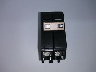 Cutler Hammer Ch2100 100 Amp 2 Pole 240 Volt Circuit Breaker