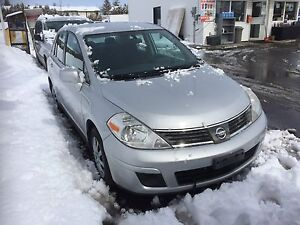 Nissan Versa 2007 certified on special ,