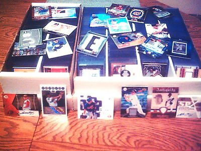 WHOLESALE BASEBALL LOT JERSEY AUTO ROOKIE INSERT HUGE SPORTS CARD COLLECTION
