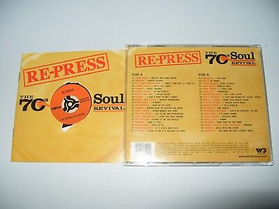seventies Re-Press 70's Soul Revival, disco party-2003  2 cd Excellent condition - Disco Seventies