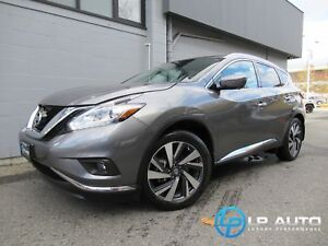 2017 Nissan Murano Platinum AWD! MINT! Easy Approvals!