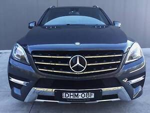 2012 Mercedes-Benz ML350 BlueEFFICIENCY Wagon 5dr 7sp 4x4 Blacktown Blacktown Area Preview