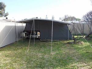 2009 Ezytrail Camper Trailer Manson 7x4 7' Offroad Camper Bungalow Cairns City Preview