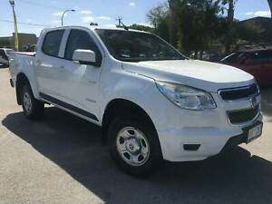 2012 HOLDEN COLORADO LX RG DUAL CAB UTE (2.8 ltr TURBO DIESEL) East Rockingham Rockingham Area Preview