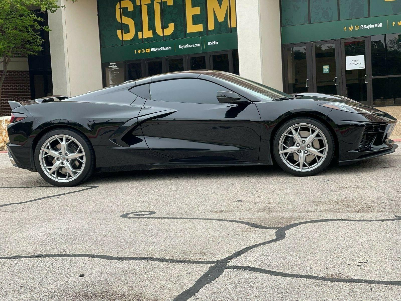 2020 Black Chevrolet Corvette   | C7 Corvette Photo 1