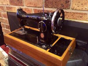 Antique Singer Sewing Machine, seriously make an offer, got to go East Hills Bankstown Area Preview