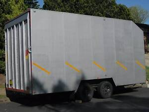 Enclosed car trailer - boat, motorbikes, canoes, storage, travel Cherrybrook Hornsby Area Preview