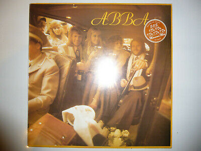 "ABBA ‎– 'ABBA' 12"" vinyl album LP. 1975 UK A1/B1 FIRST PRESSING. EX+/EX"