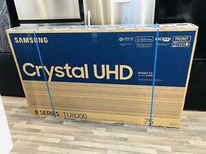 "Samsung 75"" SERIES 8 4K Smart TU8000 LED TV (1 Year Warranty)"