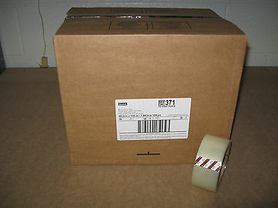 36 Rolls 3m 371 Scotch 2 Clear Packaging Packing Shipping Tape - Ships Free