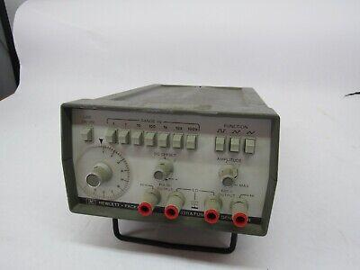 Hewlett Packard Hp 3311a Function Generator Synthesizer Test Equipment